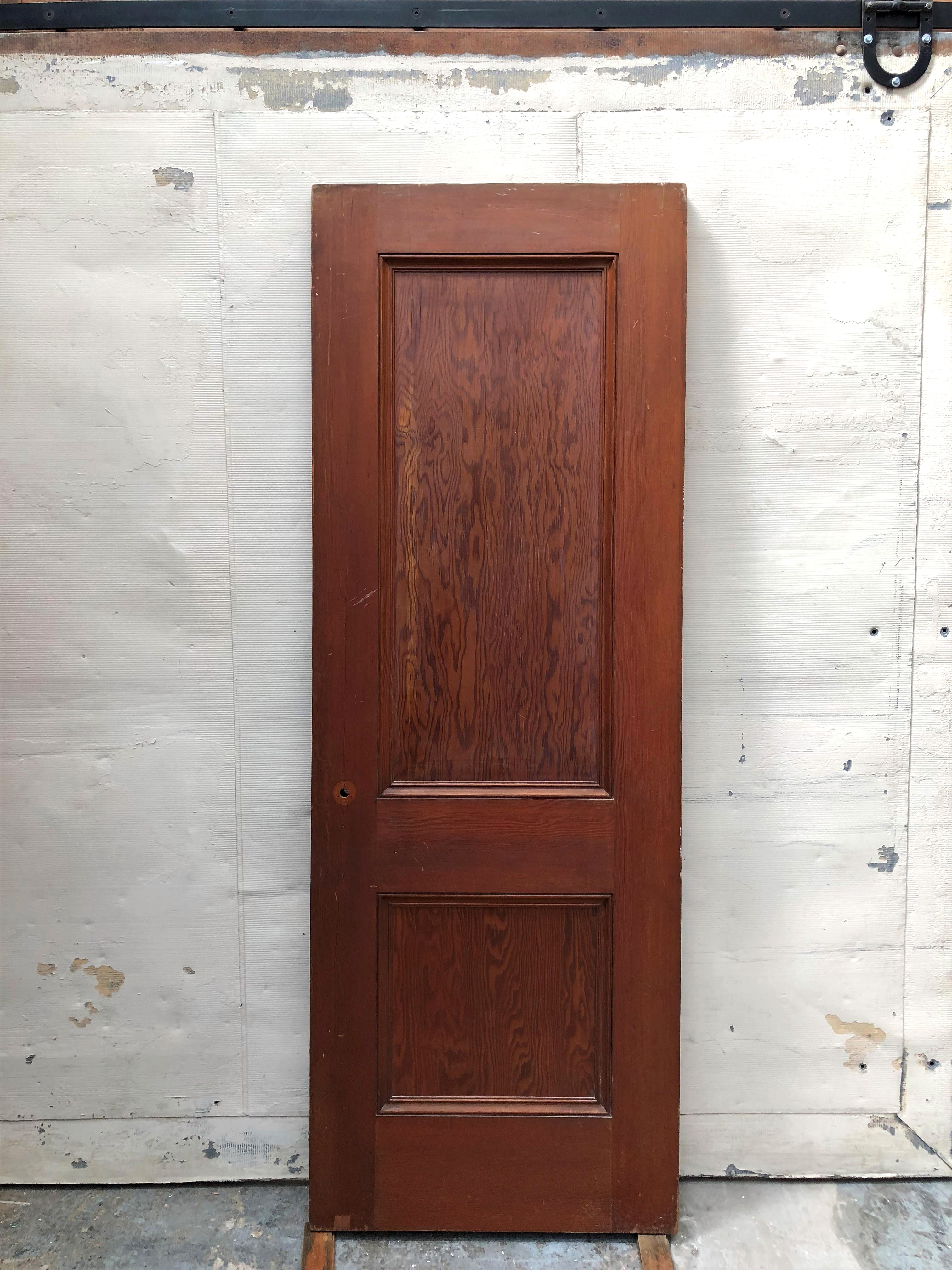 2 Panel Douglas Fir Door