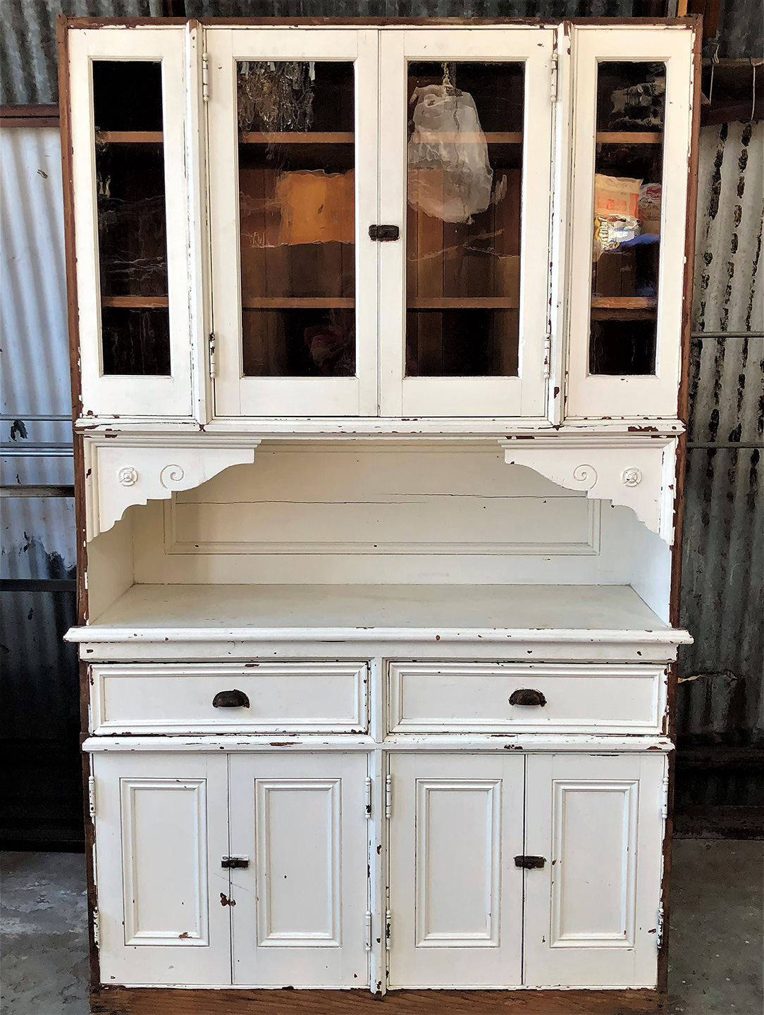Victorian Built-In Cabinet - circa 1890 [12 32 23.10-0001 ...